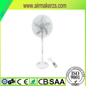 "USB & DC Socket 16"" Three Blade Emergency Rechargeable AC/DC Stand Fan pictures & photos"