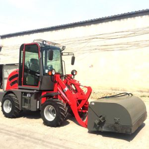 Mini Skid Steer Loader with Trencher pictures & photos