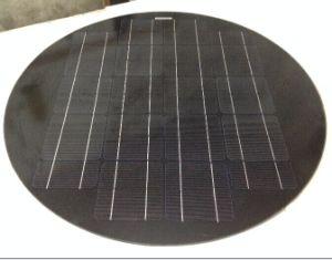 Round 50W Black Solar Panel for Solar Street Light. pictures & photos