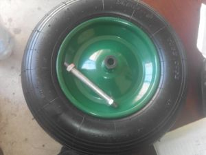 Penumatized Wheel for Wheel Barrow and Tool Cart pictures & photos