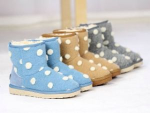 Lady Lovely Winter Warm Snow Boots (fb-80520) pictures & photos