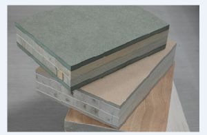 45mm Paulownia Blockboard with 6mm Green MDF pictures & photos