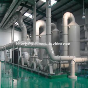 FRP Acid Fume Mist Wet Scrubber in Chemcial Industry pictures & photos