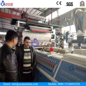 PVC Vacuum Forming Sheet Manufacture Plant/PVC Profile Sheet Making Machine pictures & photos