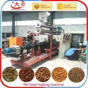 Pet Food Making Machine Cat Fish Dog Feed Pellet Extruder pictures & photos