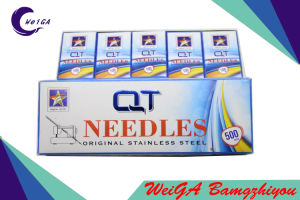 Q-T Sewing Machine Needle Stainless Steel (blue box) pictures & photos