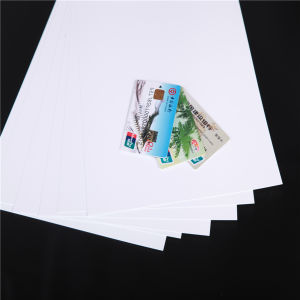 Offset Printable White Matt PVC Sheet for Normal Cards (PVC-AD) pictures & photos