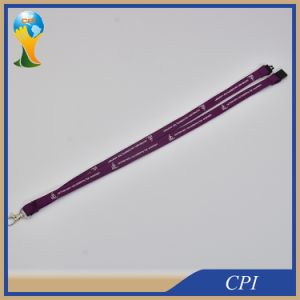 Custom Silk Screen Printing Logo Tube Promotion Polyester Lanyard From Factory pictures & photos