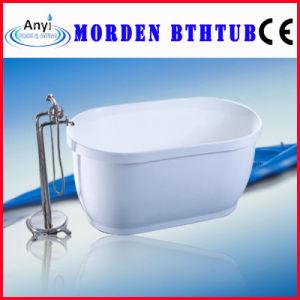 White Acrylic Modern Bathtub, Indoor SPA Tub (AT-016)