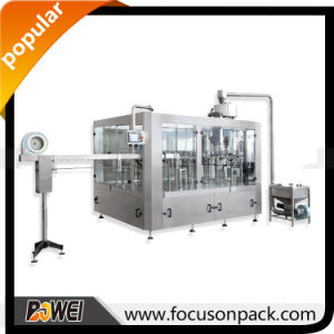 2000bph Pure Drinking Mineral Water Bottle Liquid Filling Machine pictures & photos