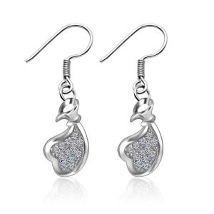 Hot Affordable Silver Wedding Party Earrings pictures & photos