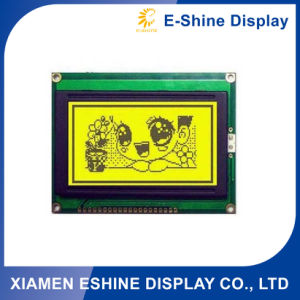 Graphic Cog Display with Yellow Background pictures & photos
