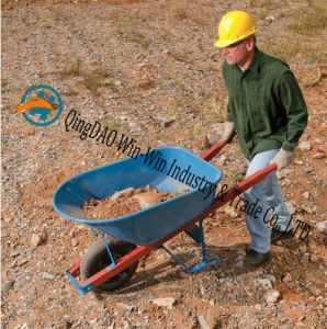 Colorful Wheelbarrow Used on Multi-Purpose pictures & photos