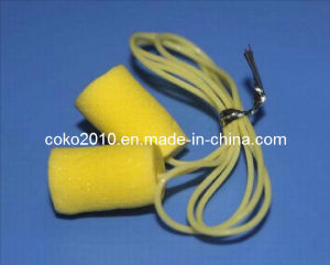 Cylinder Shape Yellow PU Foam Earplug pictures & photos