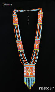 Fashion Jewelry Manufacturer Supply Beaded Long Necklace