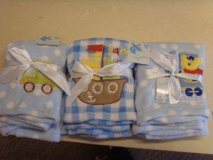 Polar Fleece Baby Blanket with Ribbion Packaging pictures & photos