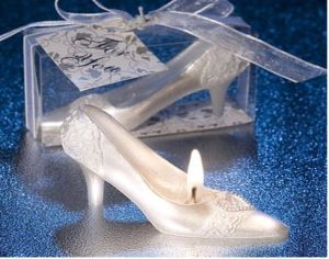 Fairytale Wedding Shoe Candle Favor Wedding Favors Parfy Gifts Giveaway Centerpieces Accessories Supplies Bridal Shower