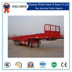 30-50t Cargo Trailer, Side Wall Semi Trailer for Sale pictures & photos