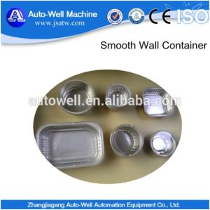 Disposable Smooth Wall Aluminium Foil Dish pictures & photos