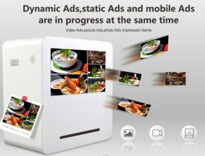 22 Inches Webchat LCD Printing Screen pictures & photos