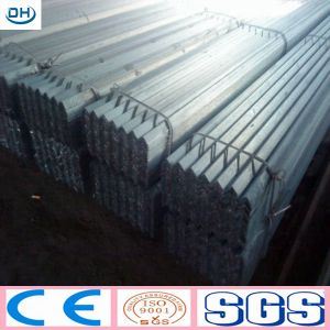 A36 Tangshan Facotry Ms Equal/Unequal Black& Galvanized Steel Angle Bar pictures & photos