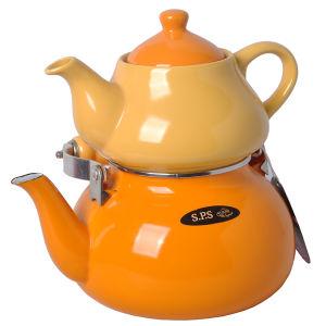1 L Ceramic Teapot and 2.5L Iron Teapot Set pictures & photos
