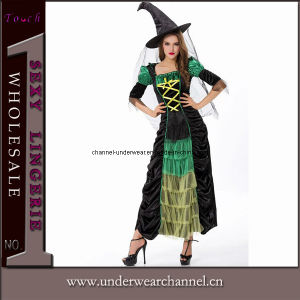 Wholesale Halloween Witch Fancy Dress Costumes Suits (5895) pictures & photos