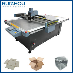 Vibrating Knife Carton Box Sample Cutting Machine pictures & photos