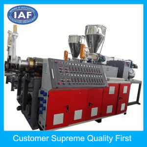 Good Quality PVC Two Colours Car Mat Plastic Extrusion Machinery pictures & photos
