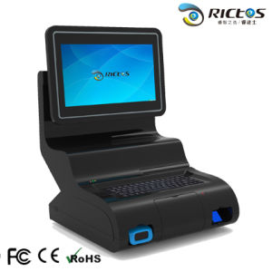 Android & Windows System All-in-One Intelligent POS Cash Register / POS Terminal