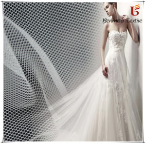 Polyester Mesh Fabric/Wedding Mesh Fabric for Wedding Garment pictures & photos