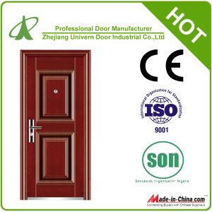 Exterior Security Double Steel Door (YF-S106) pictures & photos