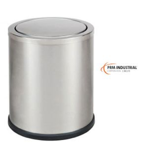 Stain Stainless Steel Hotel Room Dustbins pictures & photos
