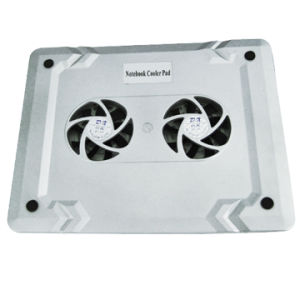 Notebook Cooling Fan with USB Port Two Fans pictures & photos