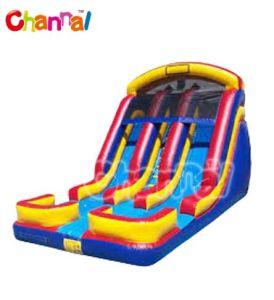 Best Quality Inflatable Double Lanp Slide Vs-019 pictures & photos