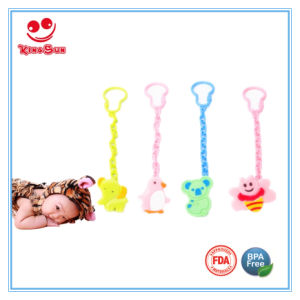 Animal Shape Newborn Baby Pacifier Clips pictures & photos