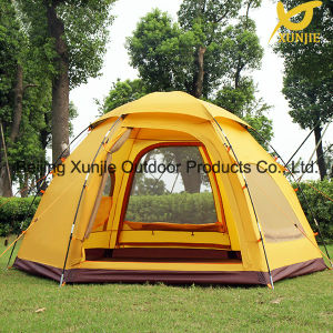 3-4 Person Lager Room Sexangle Tent pictures & photos