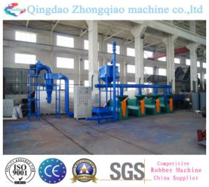 Used Tire Recycling Machine Rubber Powder Production Machine