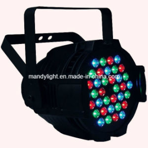 Stage Lighting/ LED PAR Can/36PCS 1W/3W RGB LED Aluminum PAR Light
