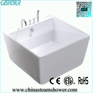 China free standing square sitting bathtub ew6806 for Sit down shower tub
