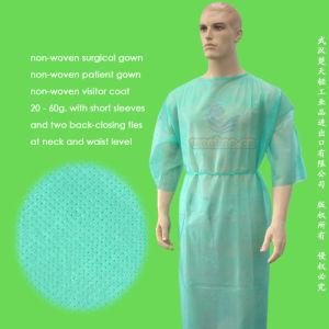 Disposable Non-Woven Patient Gown pictures & photos