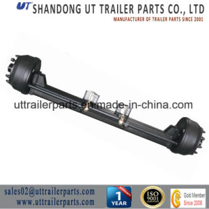 Semi Trailer Parts/Concave Type Axle/10 T/12t/Low Bed Axle pictures & photos