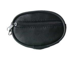 Black Lambskin Leather Small Purse (DS362316)