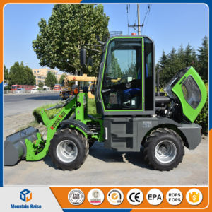 Cheap China Mud Tires Small Wheel Loader with Various Attachments pictures & photos