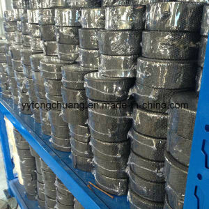 Black Fiberglass Exhaust Header Pipe Heat Insulating Wrap pictures & photos