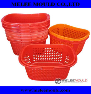 Plastic Basket Mould, Plastic Inejction Basket Mold (MELEE MOULD -255) pictures & photos