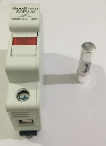 PV Combiner Box Parts 10*38 1000V DC Fuse pictures & photos