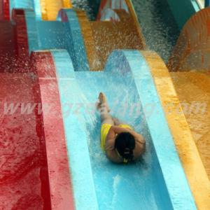 Water Park Fiberglass Rainbow Water Slide (DL-14103) pictures & photos
