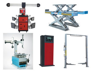 Tire Changer / Two (2) Post Lift/Car Lift / Wheel Balancer / Wheel Alignment (Aligner) /Nitrogen Inflator pictures & photos