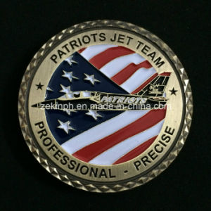 Custom USA Military Plane Metal Challenge Coins pictures & photos